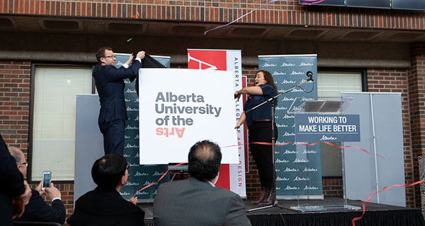 Alberta College of Art + Design becoming a university
