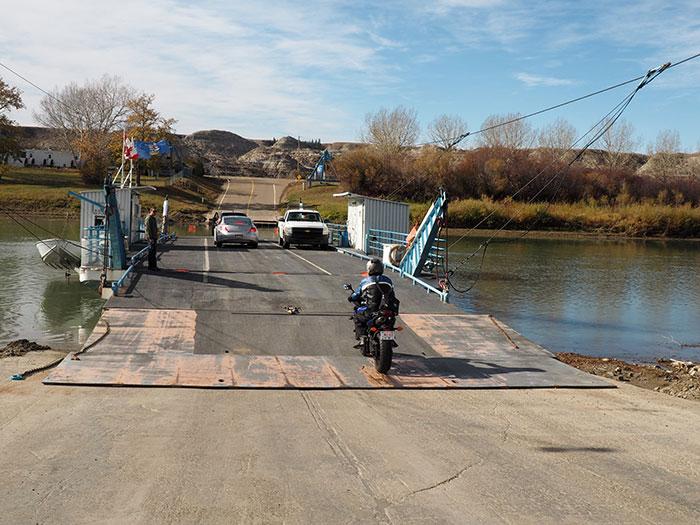 Red Deer River ferry