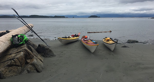 Five days kayaking in B.C.'s Broken Group Islands