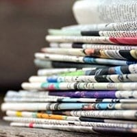 The company says revenue decline of 8.2% was primarily due to decreases in print advertising