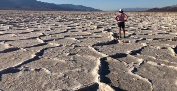Death Valley, California. Hotter than Hades
