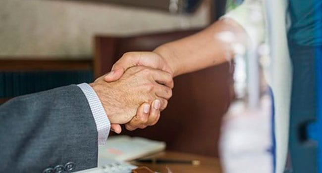 Why women in business should shake hands