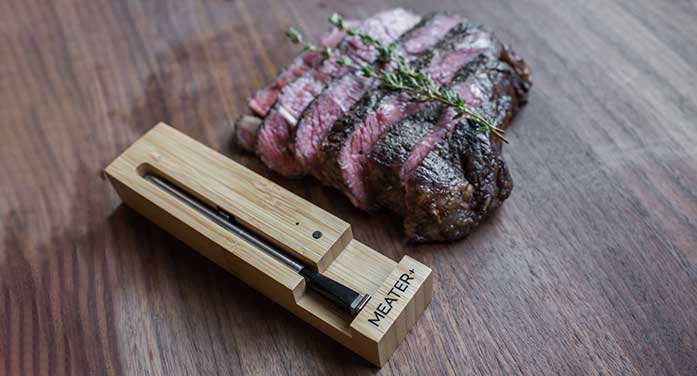 MEATER thermometer takes the guesswork out of cooking